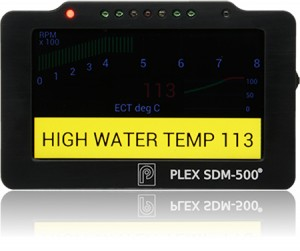 PLEX-TUNING-SDM-500-DASH-DISPLAY-LOGGER-ALARMS